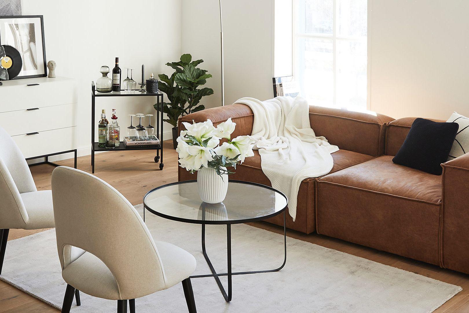 Trend: sofà in pelle
