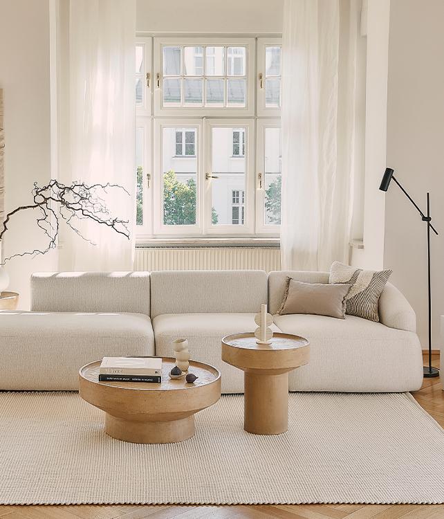 Blanco & madera