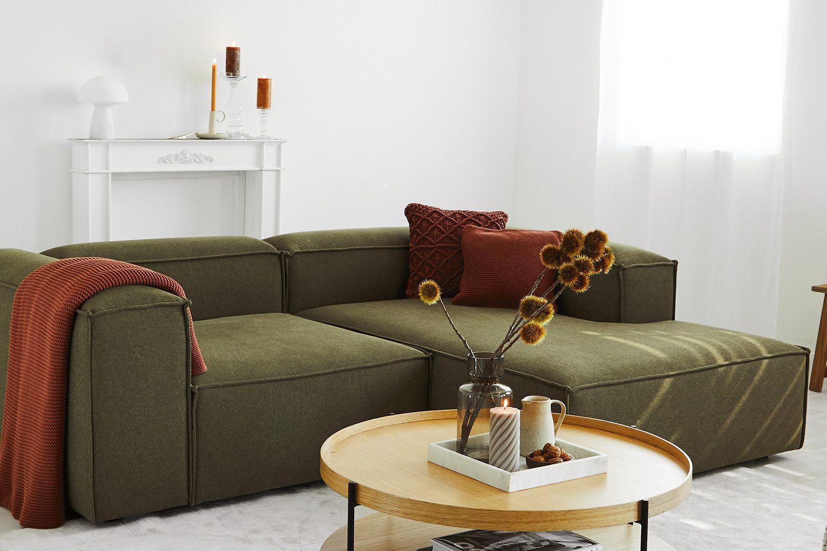 Sofa-Star in Grün