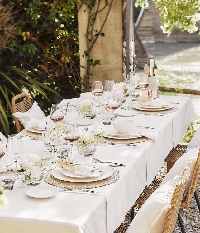 Table à la provençale