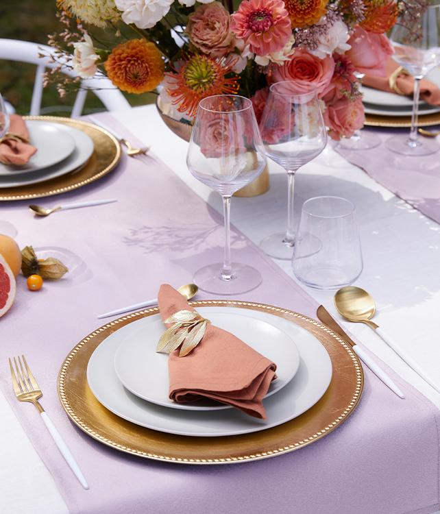 Table en or