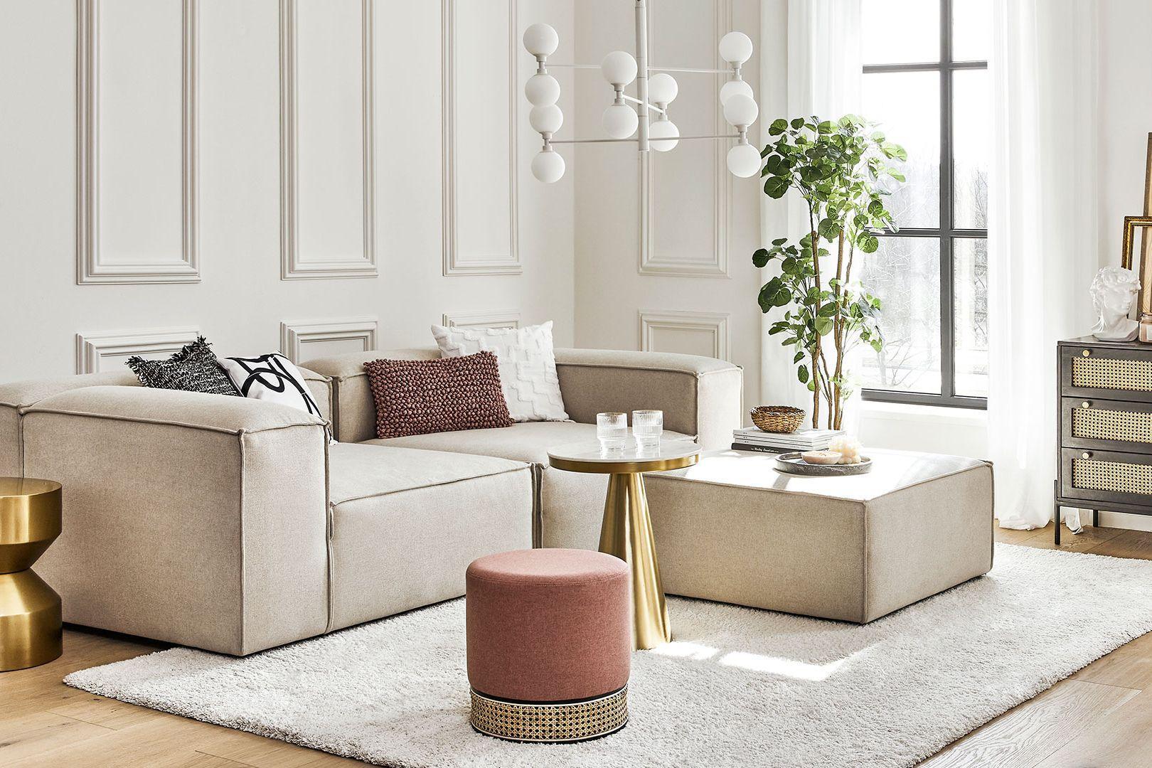 Efektná obývačka
