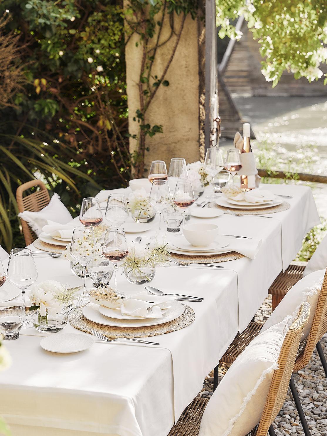 Tafel à la Provence