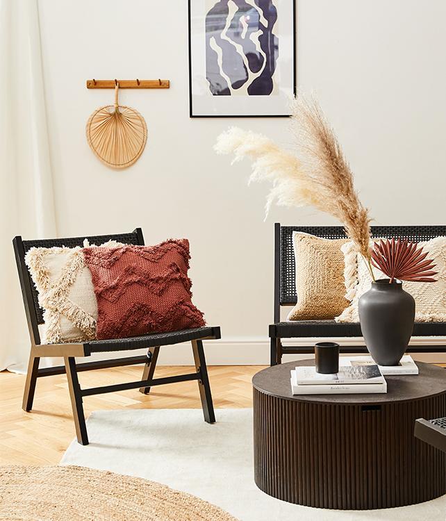 Lässige Boho-Lounge