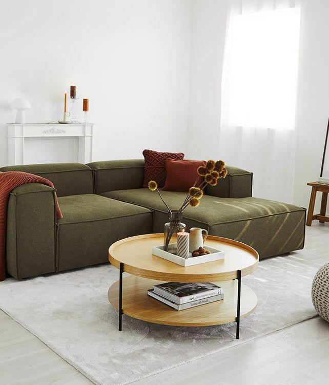 Canapé star en vert