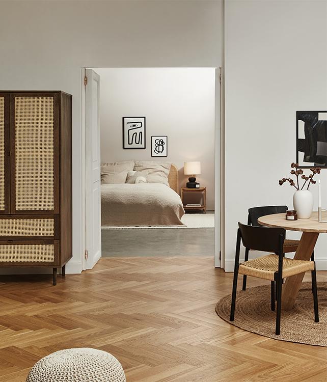 Holz modern interpretiert