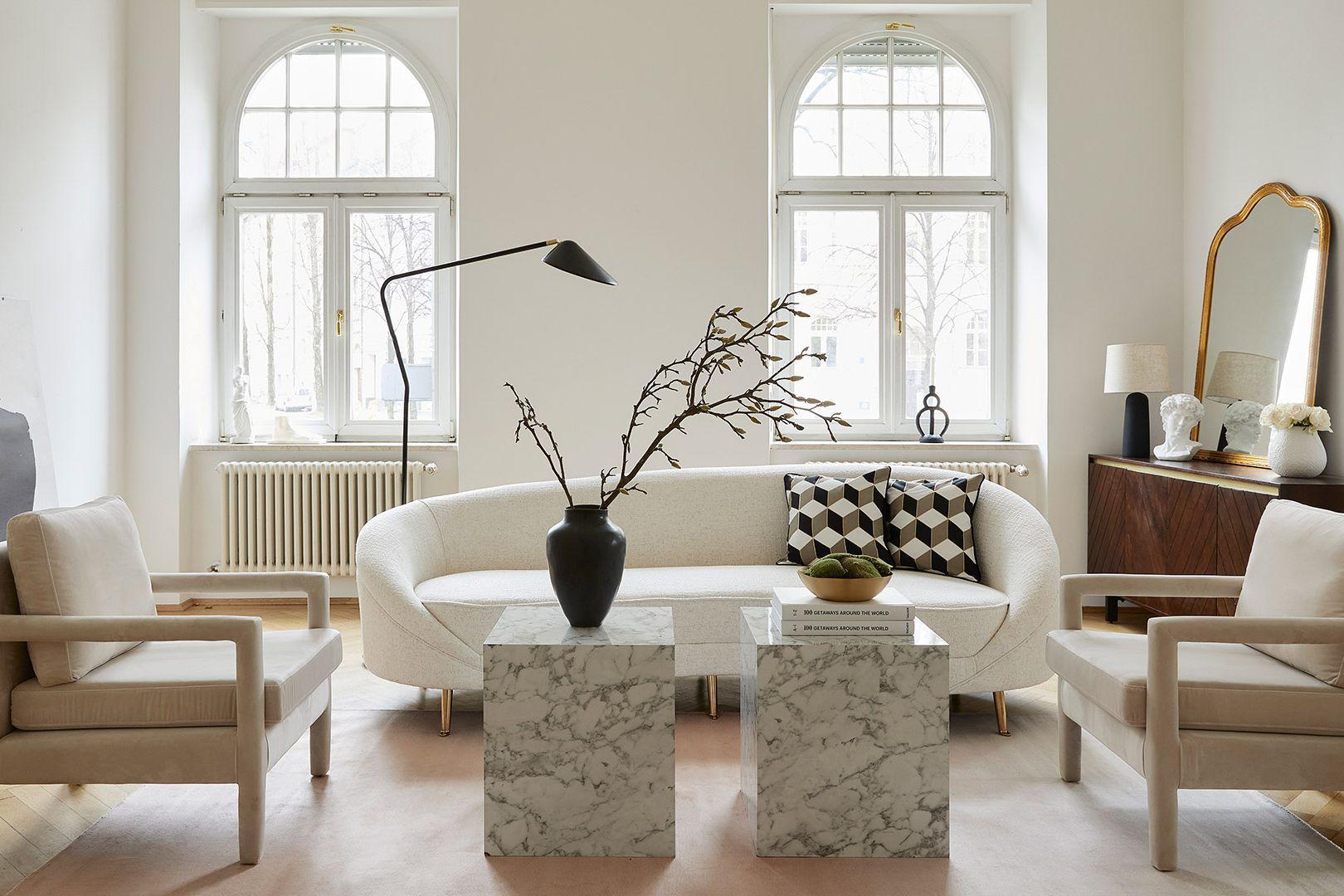 Wyrafinowany salon