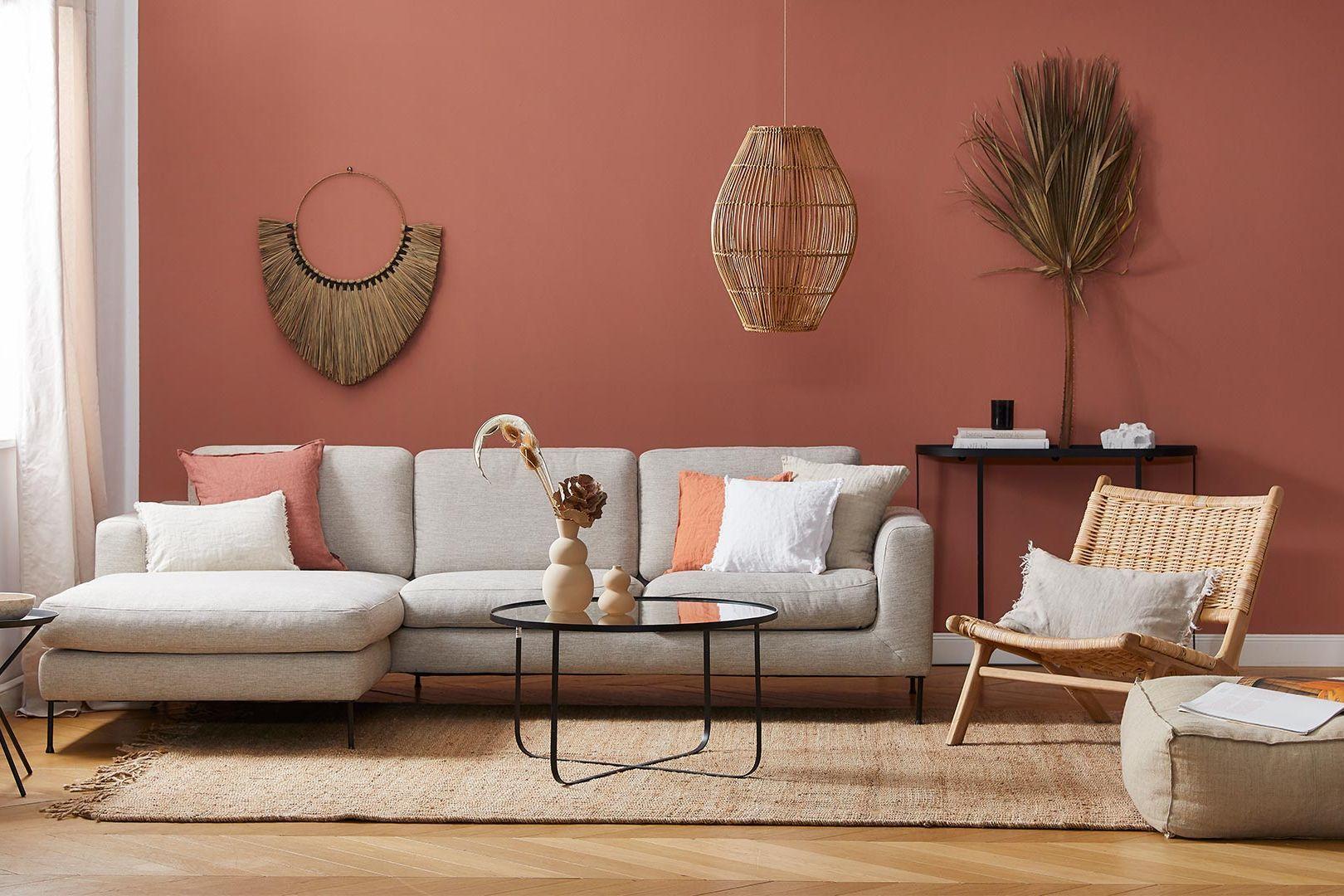 Sofa styling: Boho