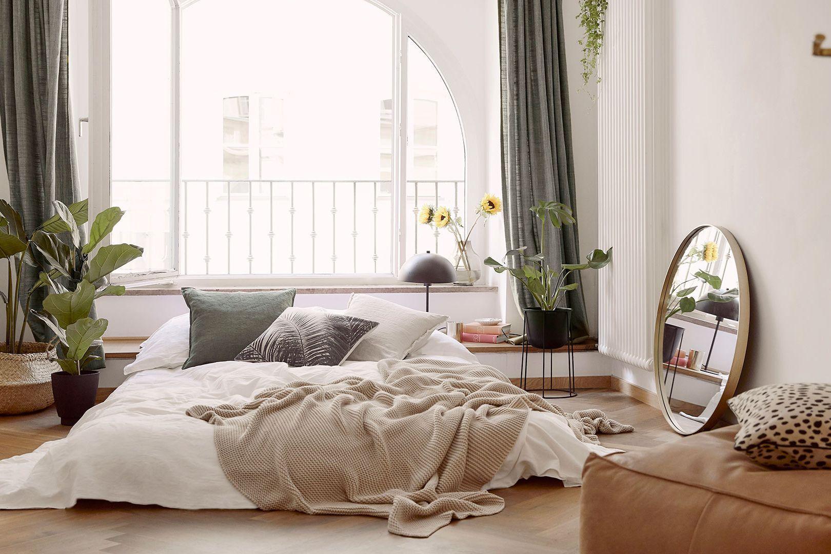 Un salón-dormitorio