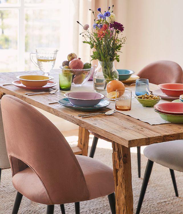 Table colorée