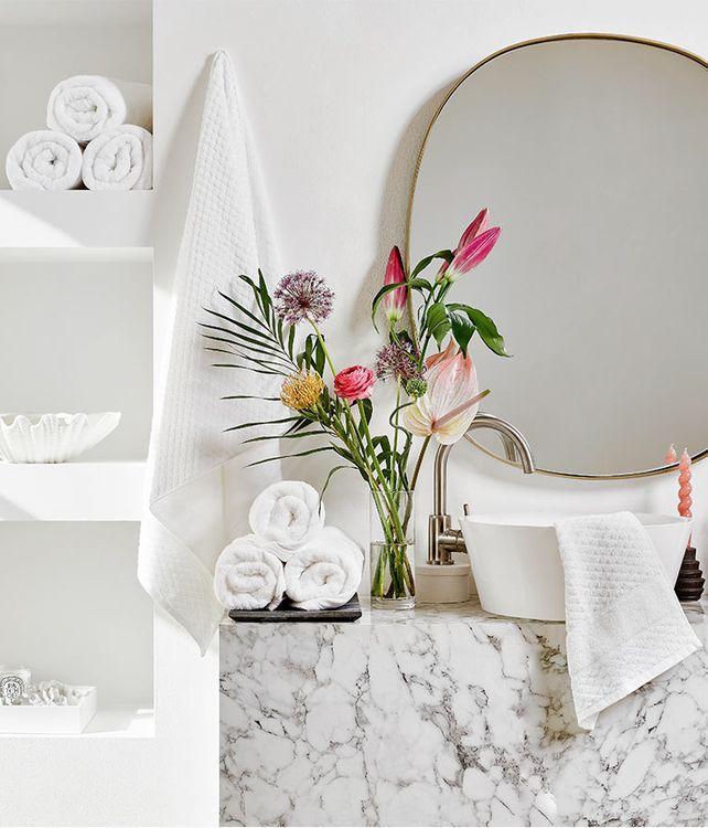 Un baño de frescor