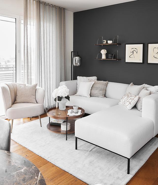 Kompaktes Wohnzimmer