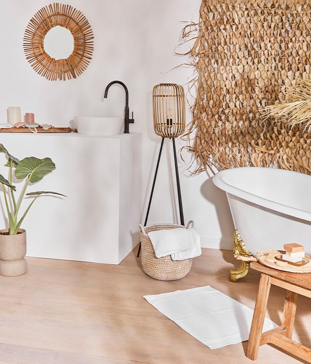 De natuurlijke badkamer