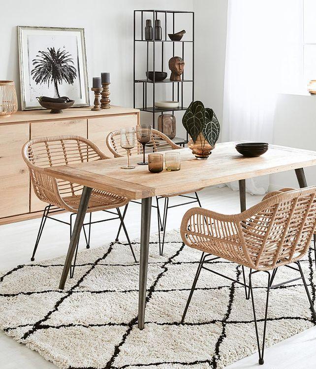 Table au naturel