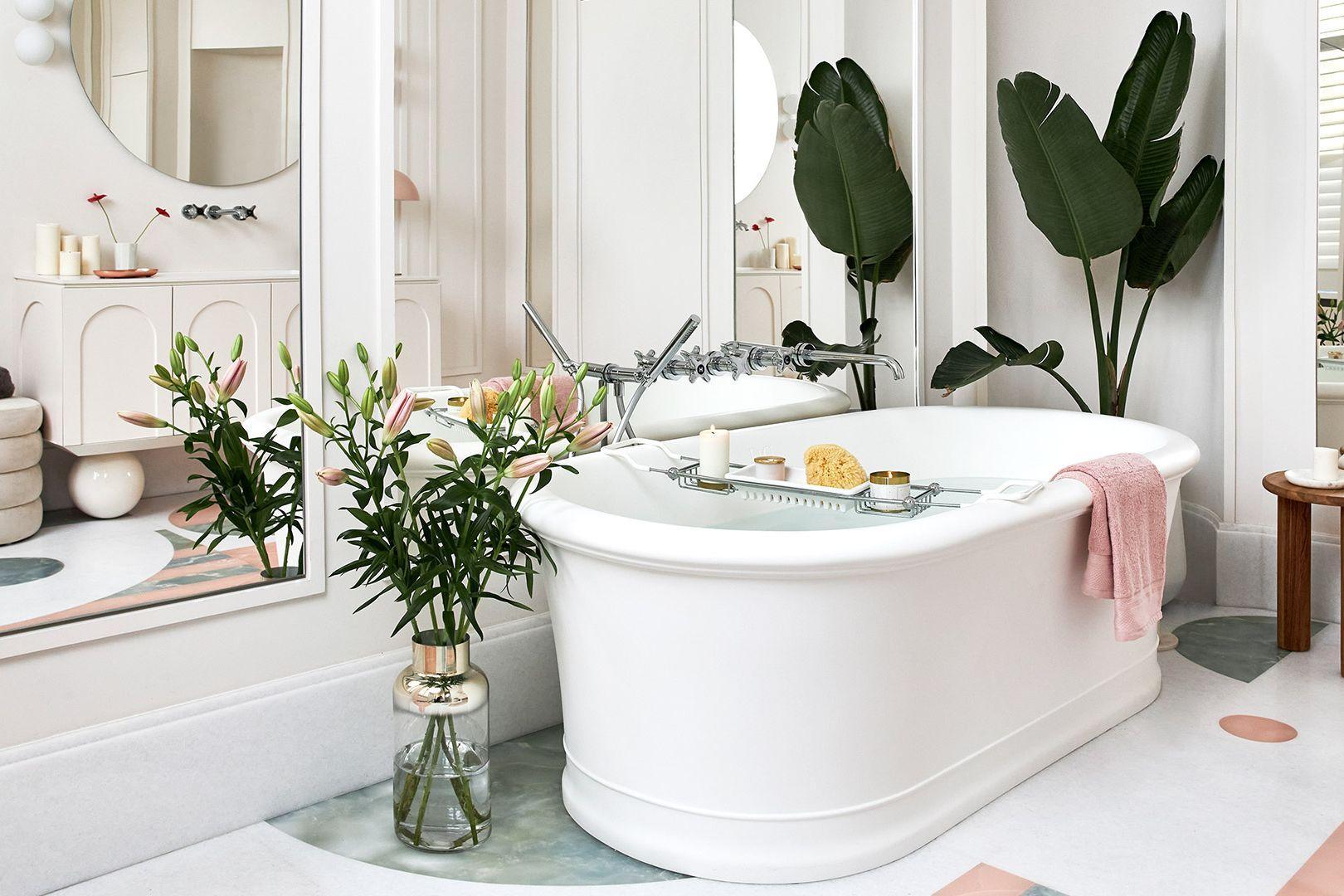 Retro kúpeľňa