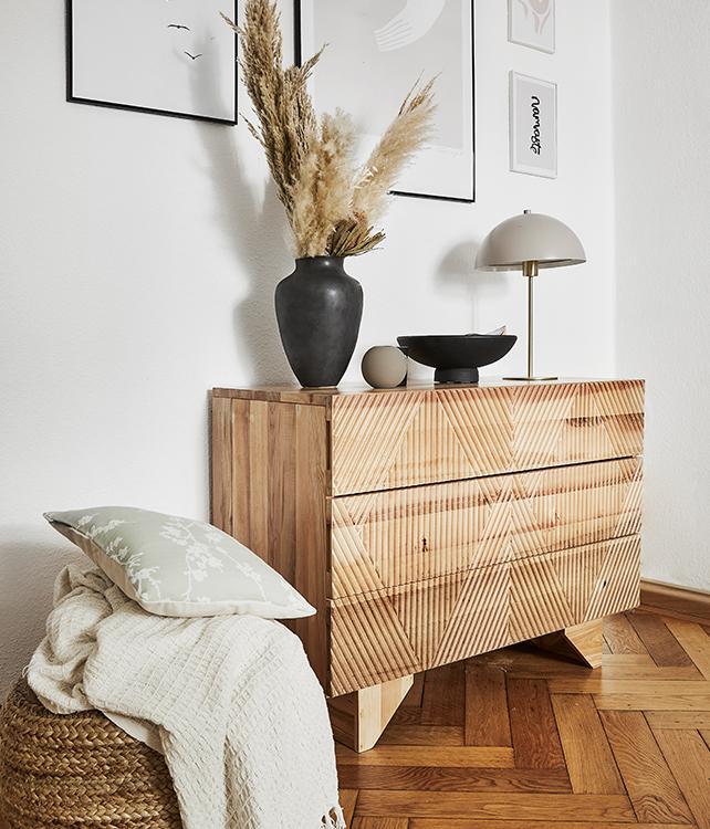 Drewno i ceramika