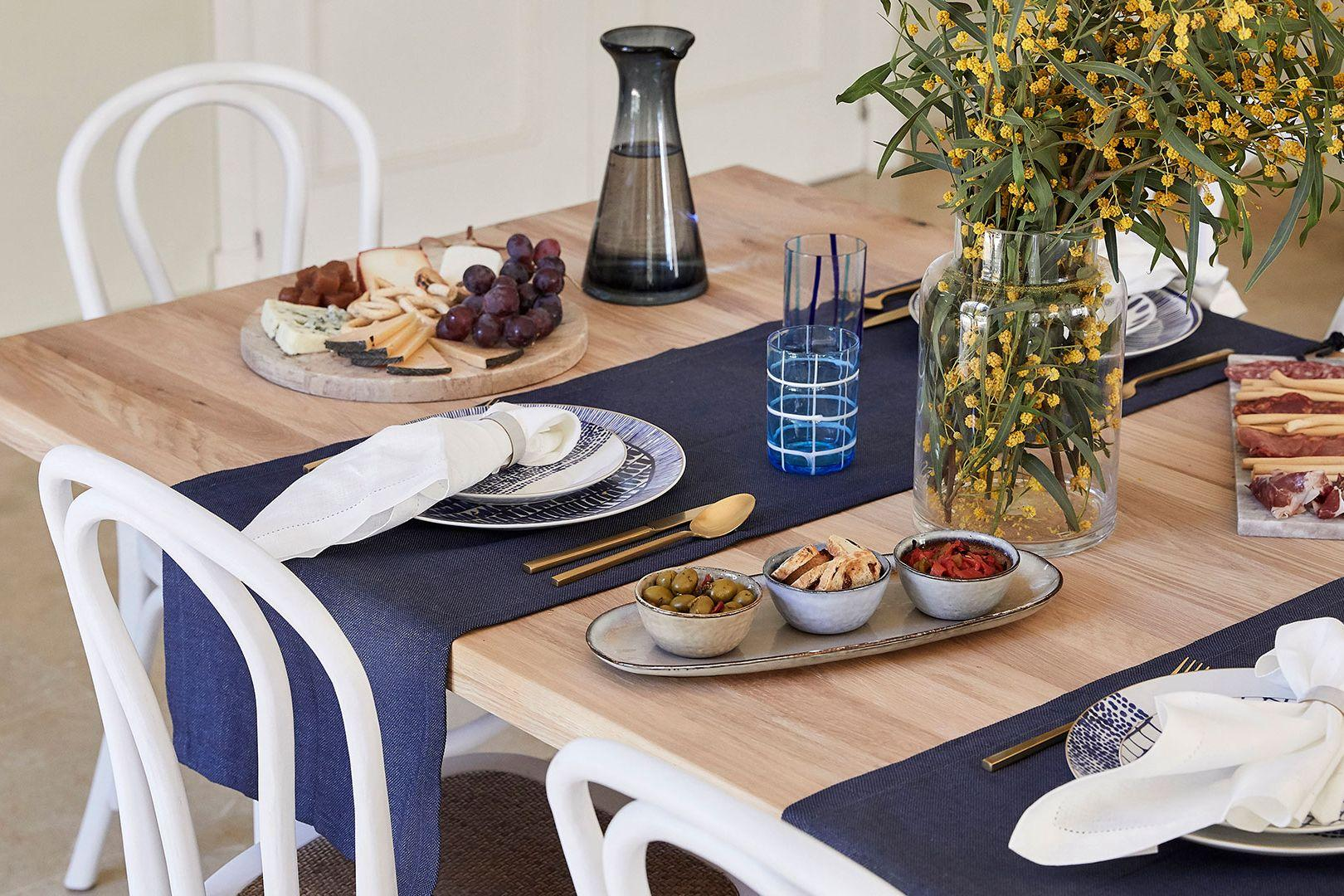 Tisch-Style: Marine