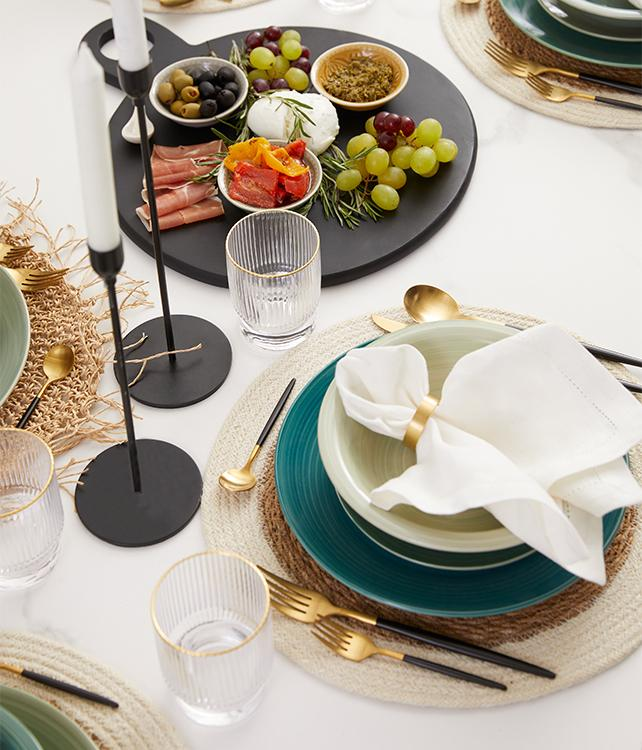 Art de la table élégant