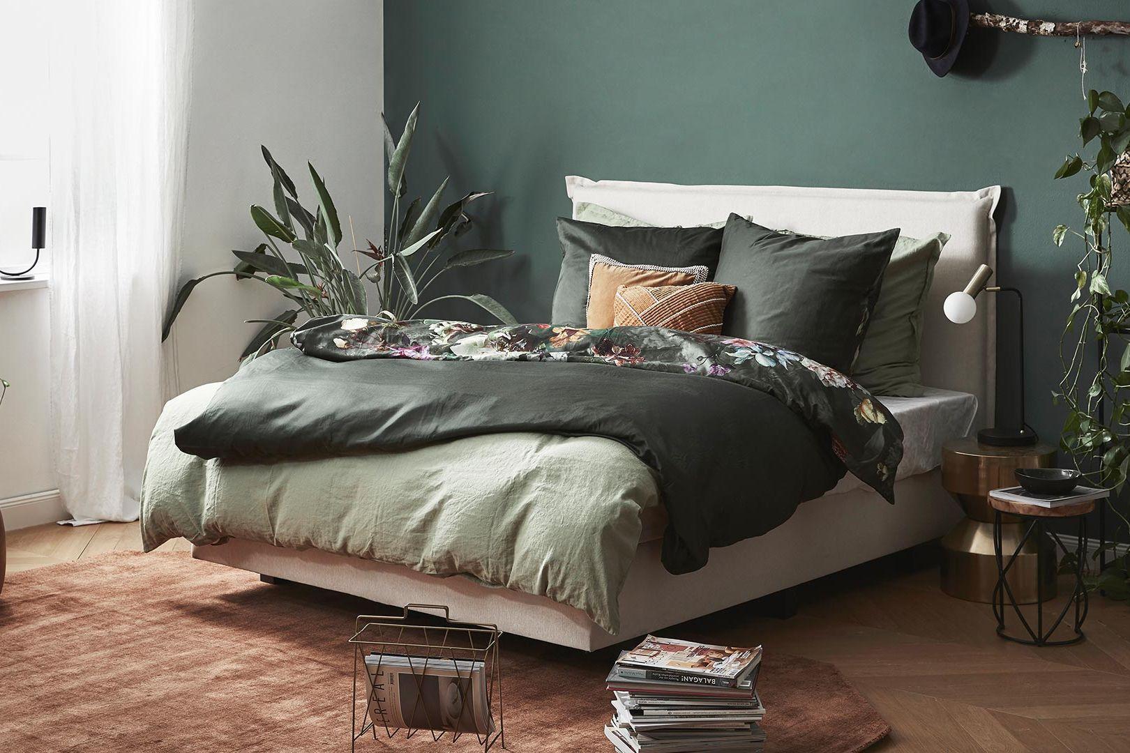 Roślinna sypialnia